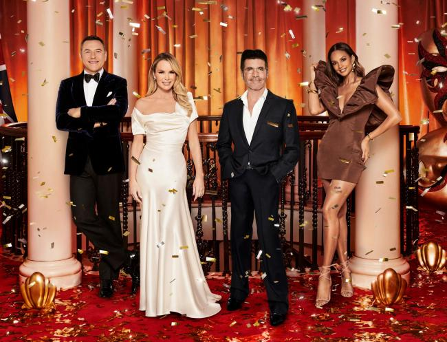 Britain's Got Talent judge Amanda Holden: ITV show will 'lead the way' when it returns. Picture: ITV