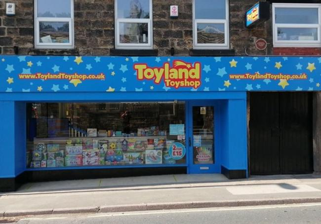 Sporing a fresh new look - Toyland Toyshop in Otley