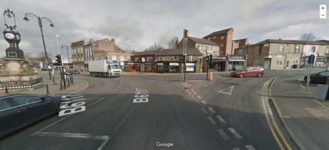 Market Street at its junction with Westgate, in Heckmondwike. Pic: Google Street View