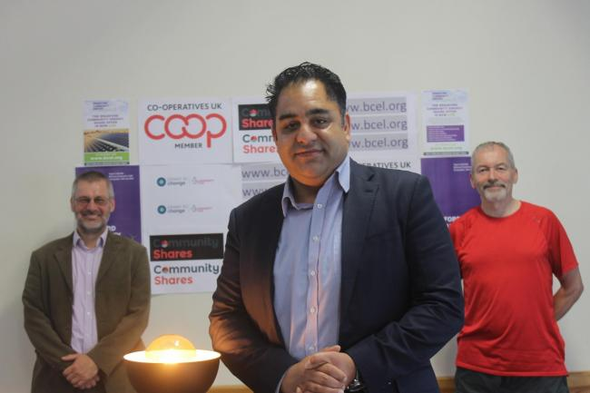Imran Hussain MP launches Bradford Community Energy