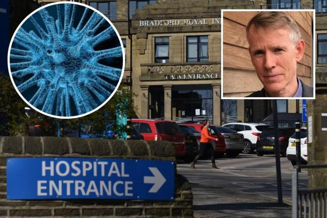 Leading Bradford doctor, Professor John Wright, has celebrated the first day of no coronavirus admissions at Bradford Royal Infirmary (BRI) since mid-March.