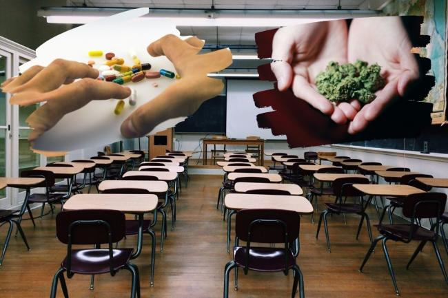 "New data has ""unearthed every parent's worst nightmare"" with drug offences in West Yorkshire schools almost tripling in just four years."