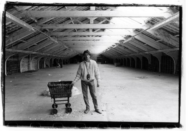 Bradford Telegraph and Argus: Ian Beesley at Salts Mill in 1986