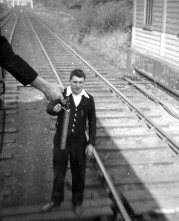 Are you able to identify the signalman?