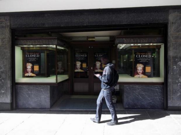 Bradford Telegraph and Argus: Goldsmiths shut in Bradford in 2012