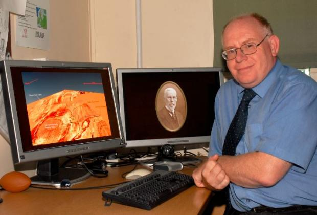 Bradford Telegraph and Argus: Professor Vince Gaffney