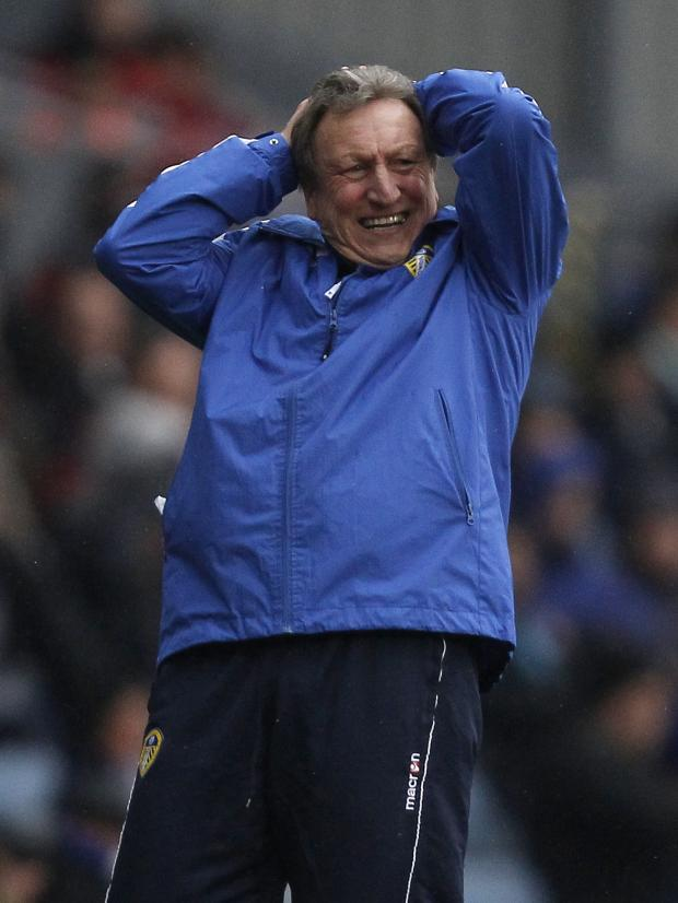 Bradford Telegraph and Argus: Neil Warnock