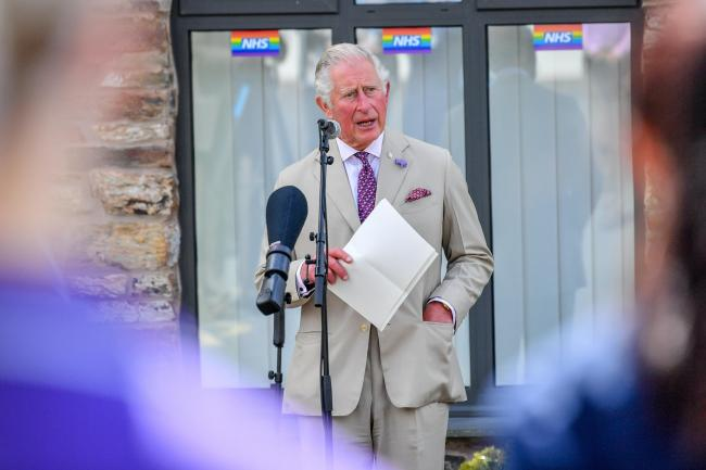 The Prince of Wales has praised the Covid-19 effort of GP surgeries in a speech delivered during a visit to a Cornwall GP practice with the Duchess of Cornwall