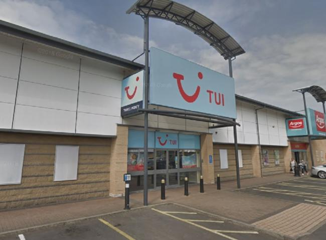 The Tui store on Valley Road, Bradford