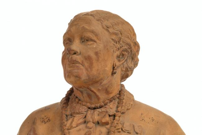The bust of Mary Seacole (Dominic Winter Auctioneers/PA)