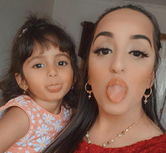 Attiya and huriya having fun and enjoy Eid