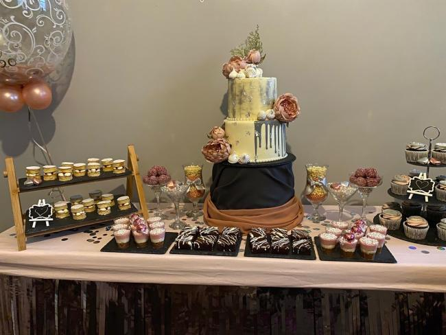 Eid dessert tables by Bibi Hawwaa