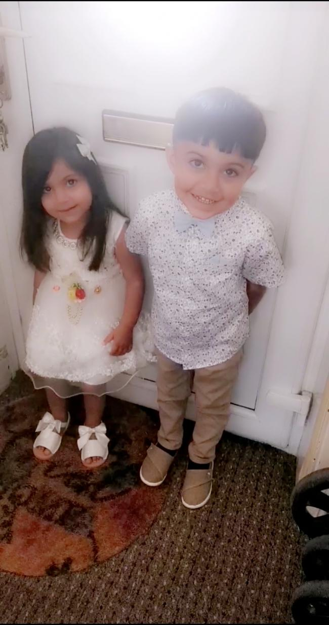 My beautiful babies ready for eid celebration ❤️