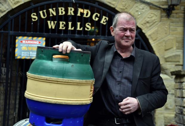 Bradford Telegraph and Argus: Graham Hall says Sunbridgewells will undergo a deep clean before it opens later this month