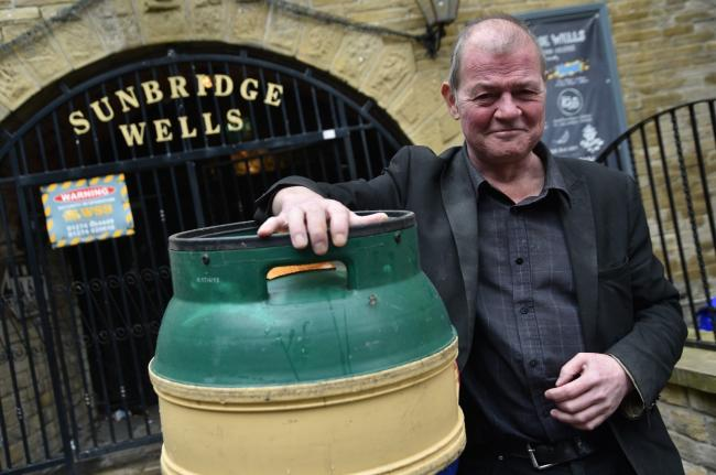 Graham Hall says he is ready to welcome back the public to Sunbridgewells at the end of this month