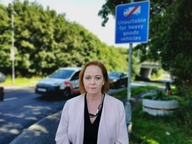 Bradford South MP Judith Cummins has formally objected to the new Interchange 26 industrial park near Cleckheaton due to impact on local residents