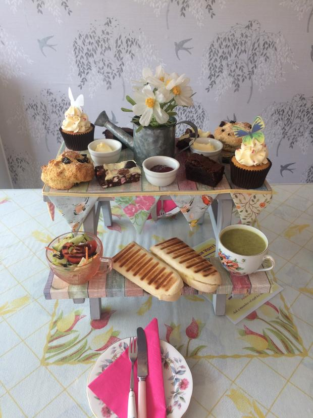 Bradford Telegraph and Argus: Would you tuck into this afternoon tea? (Photo: Emily Beaton)