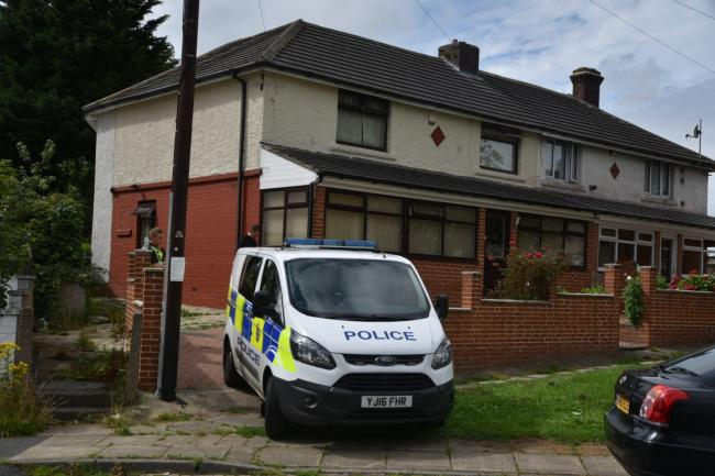 Search warrants are being carried out in the Palin Avenue area of Bradford Moor