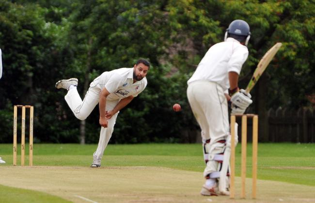 Action from a clash between Dales Council sides Bradford Moor and Thornbury. Picture: Richard Leach.