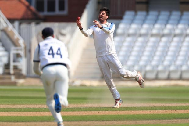 Steven Patterson feels Duanne Olivier's performance on a flat pitch at Kent bodes well for the season ahead, which continues for Yorkshire with a four-day clash at Sussex, starting tomorrow. Picture: Mike Egerton/PA Wire.