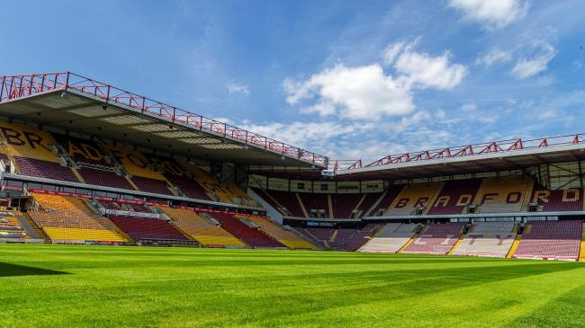 Fans will not be allowed back in Valley Parade in October as had been hoped