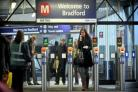 The new £250,000 ticket barriers at Bradford Interchange