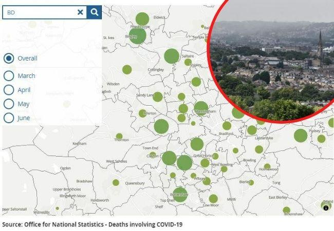 Map shows total number of people who died of Covid-19 in your area - how to search your postcode