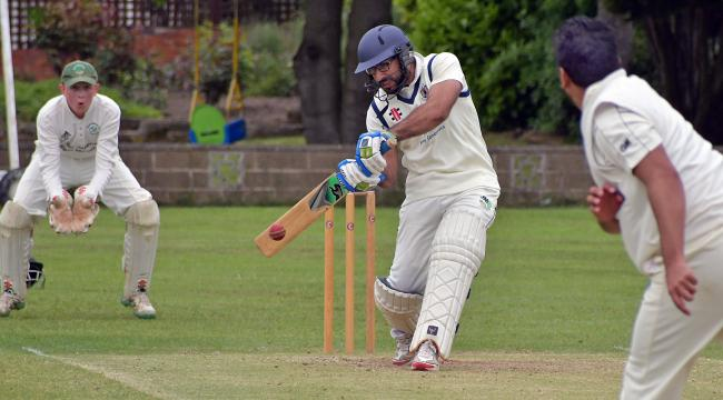 Ansan Tanveer (above) shot 57 in Bolton Villas' win over Tong Park Esholt seconds