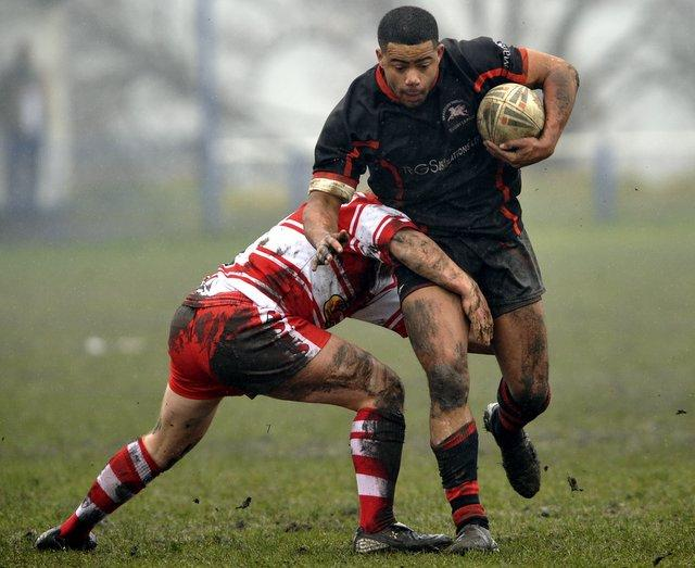 Tony Williams has been at his try-scoring best this season as Bradford Dudley Hill challenge for promotion to the National Conference Premier Division