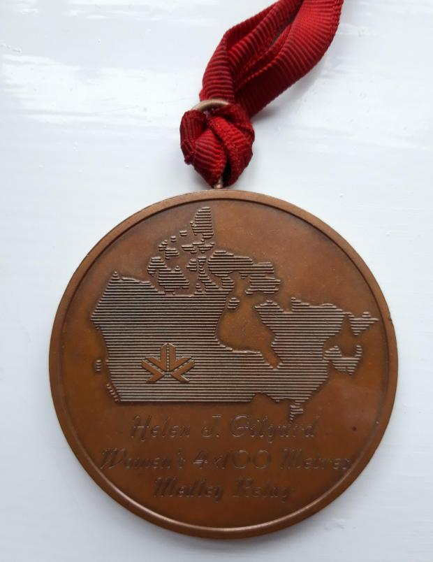 Bradford Telegraph and Argus: Helen Gilyard's 1978 Commonwealth Games bronze medal
