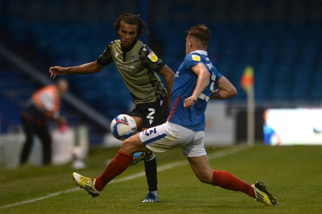 Colchester lost 2-0 at Portsmouth in the EFL Trophy in midweek