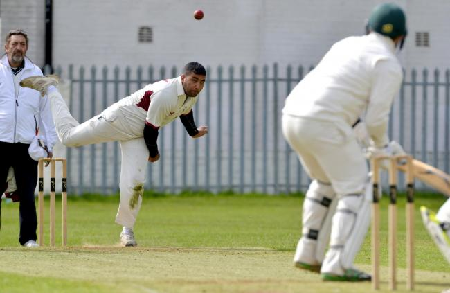 Mohammed Gulnawaz bowled well for Riddlesden, and made 21 with the bat, but his slipped to defeat against Eldwick & Gilstead