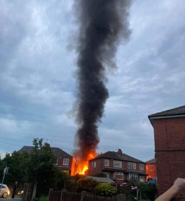 Fire crews determine cause of the large fire in Pudsey earlier this week