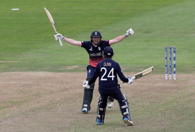 Jenny Gunn has played in multiple World Cups for England, and James Carr has called her experience for the Northern Diamonds invaluable. Picture: David Davies/PA Wire.