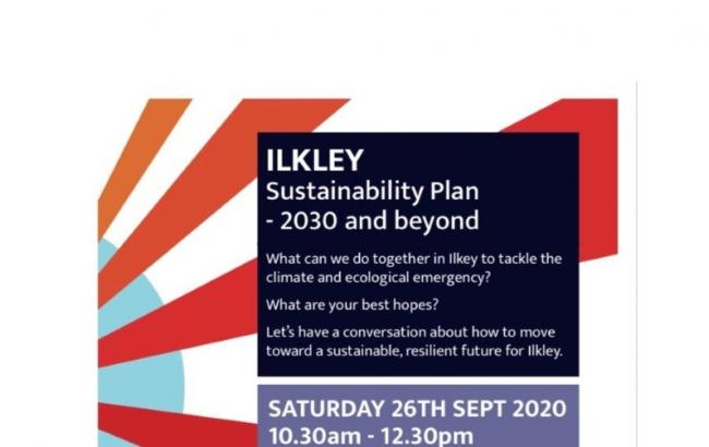 The Ilkley Sustainability Plan (ISP) will be discussed at a Zoom meeting on Saturday from 10.30am to 12.30pm