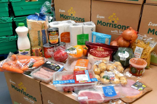 Morrisons introduces new measures to receive food box deliveries.