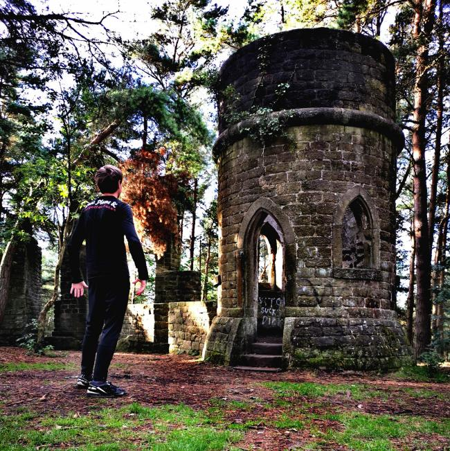 An urban photographer who runs the Lost Places & Forgotten Faces Facebook visited Harden Grange Folly