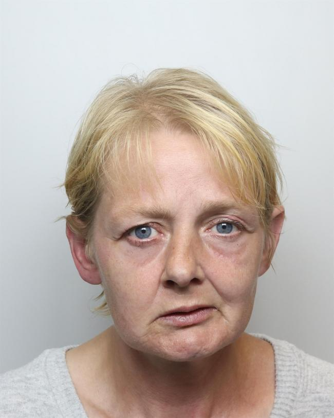 Dawn Caswell, pictured above, was jailed this week
