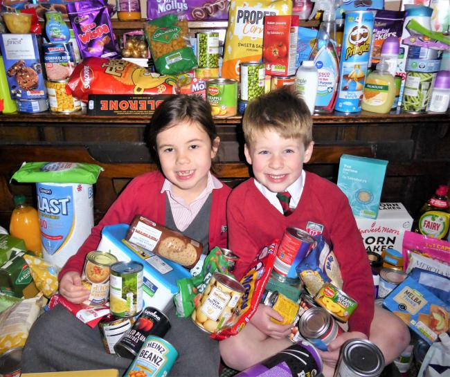 Moorfield School and Nursery is supporting Ilkley Food Bank this harvest festival time