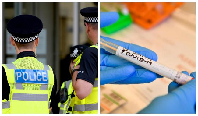 Police issue thousands of pounds in fines for COVID-19 rule breakers in just one month