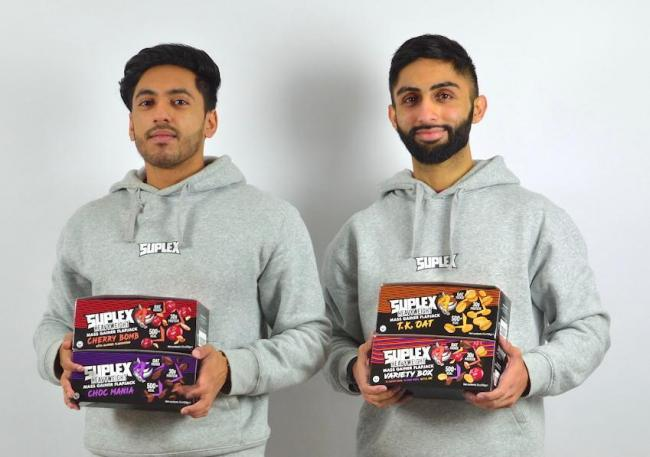 Tayyab Zahid (left) and Janaid Raja (right) are the founders of Suplex Nutrition