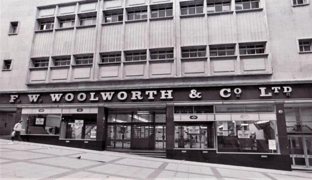 Bradford Telegraph and Argus: Woolworths in Darley Street, Bradford, shut its doors for the final time on March 29, 1984