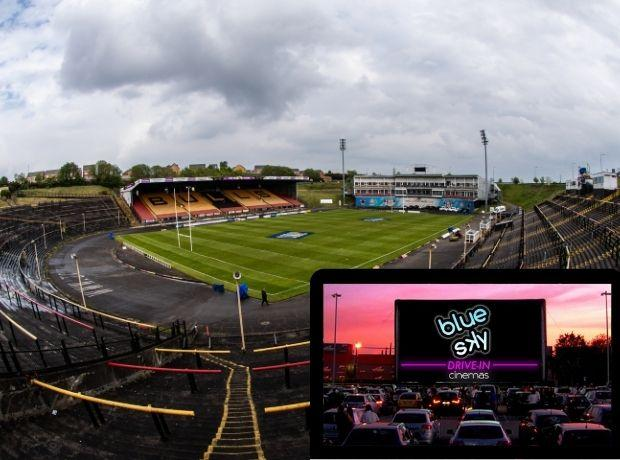 Odsal Stadium to reopen next month with a series of drive-in cinema events