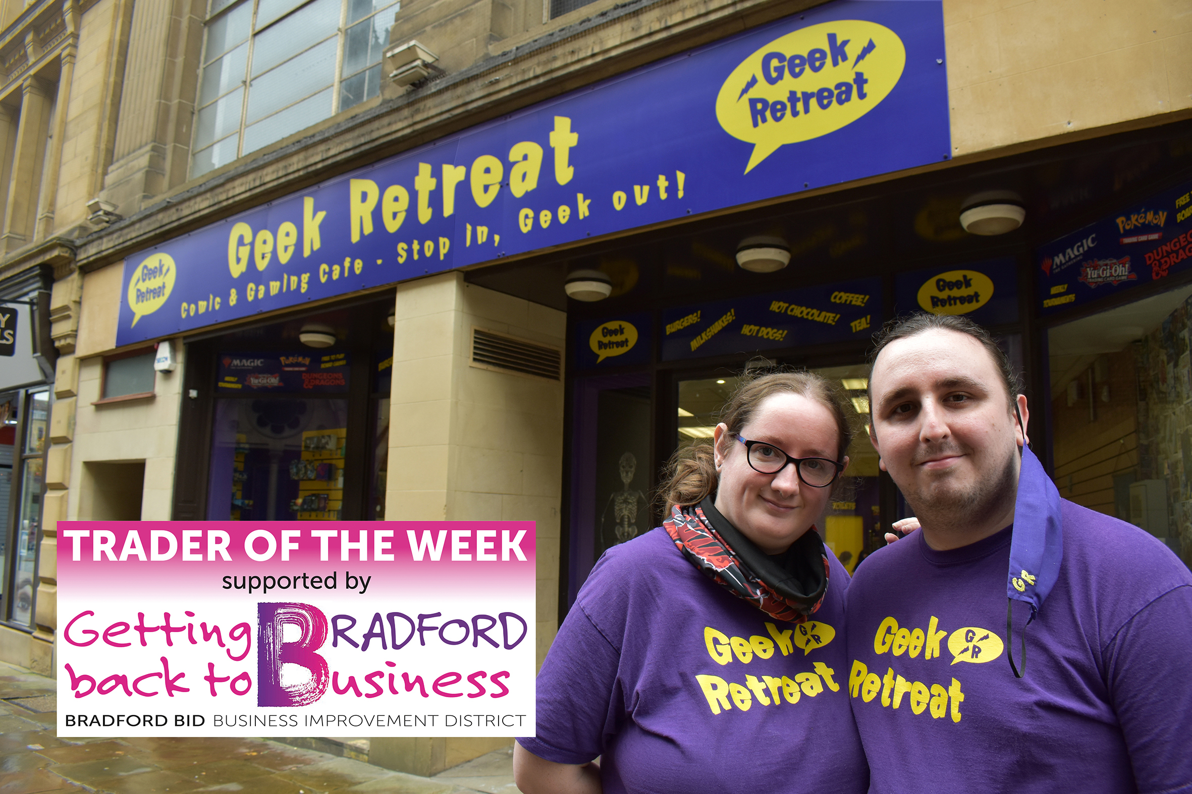 Trader of the Week: 'I wish this place had been in Bradford when I was a kid'