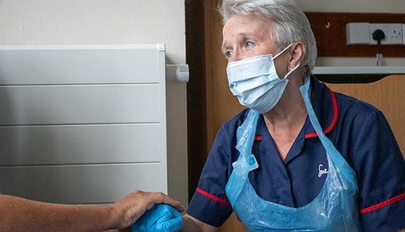 Sue Ryder Nurses have been working throughout the pandemic