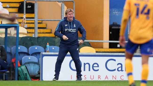 Stuart McCall has made inquiries about two potential January signings. Picture: Thomas Gadd