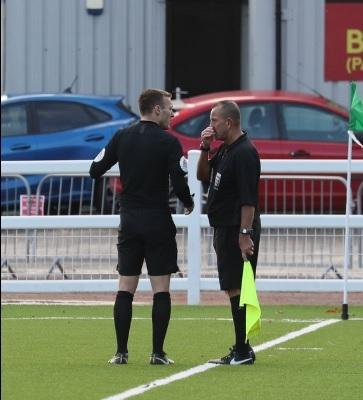 There was a debatable red card in Avenue's 2-2 against Spennymoor Town