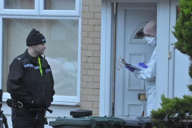 Forensic Officers are investigating in Airedale Road, Undercliffe, after a man died from a serious head injury following an assault.