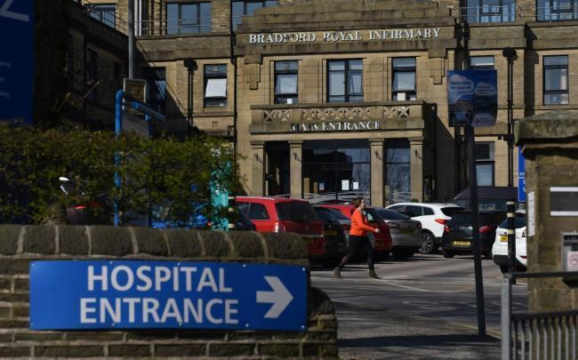 Five further coronavirus-related deaths reported by Bradford hospitals