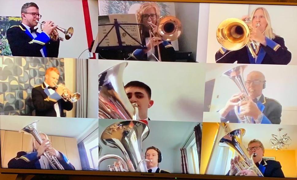 Virtual brass band concert a resounding success